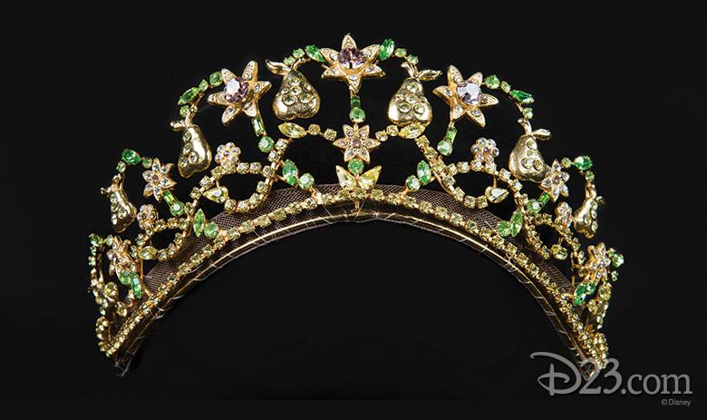 Princess Mia's gold tiara - The Princess Diaries