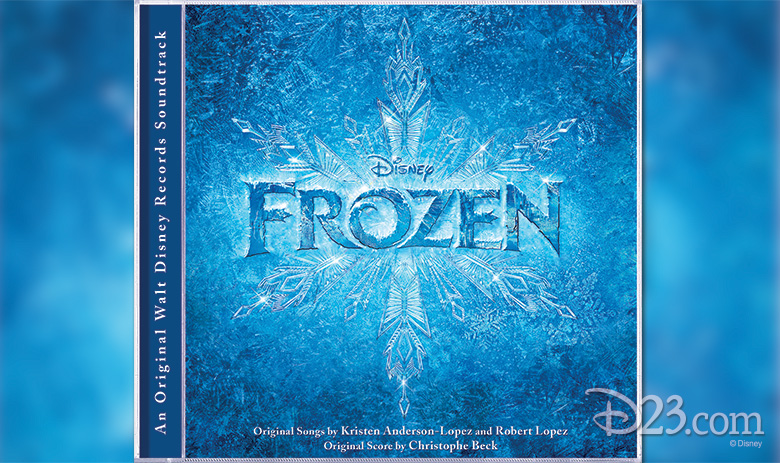 FROZEN album cover