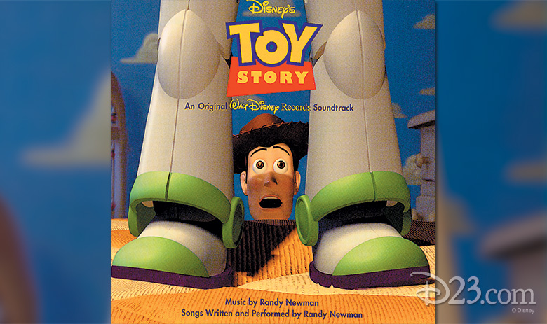 TOY STORY album cover