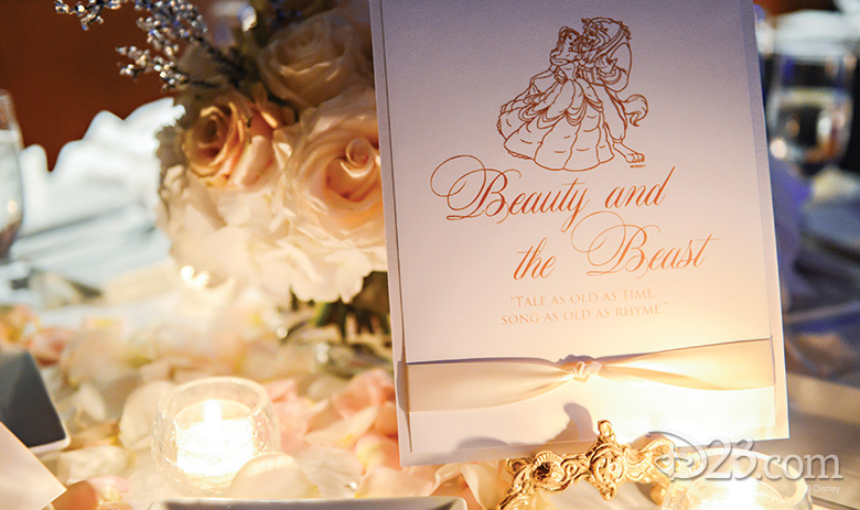 Make Your Wedding Enchanting With Beauty And The Beast D23