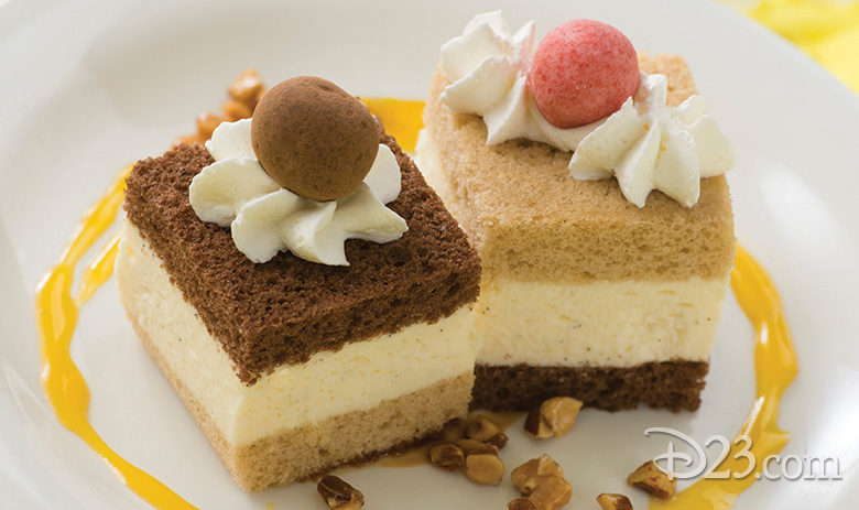 Chip and Dale dessert