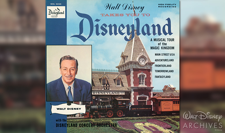 WALT DISNEY TAKES YOU TO DISNEYLAND album