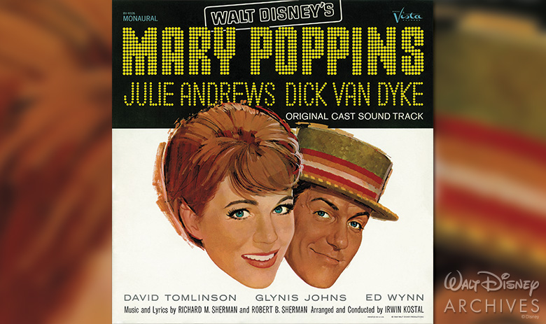 MARY POPPINS Original Cast Sound Track album cover