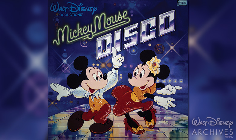 MICKEY MOUSE DISCO album cover
