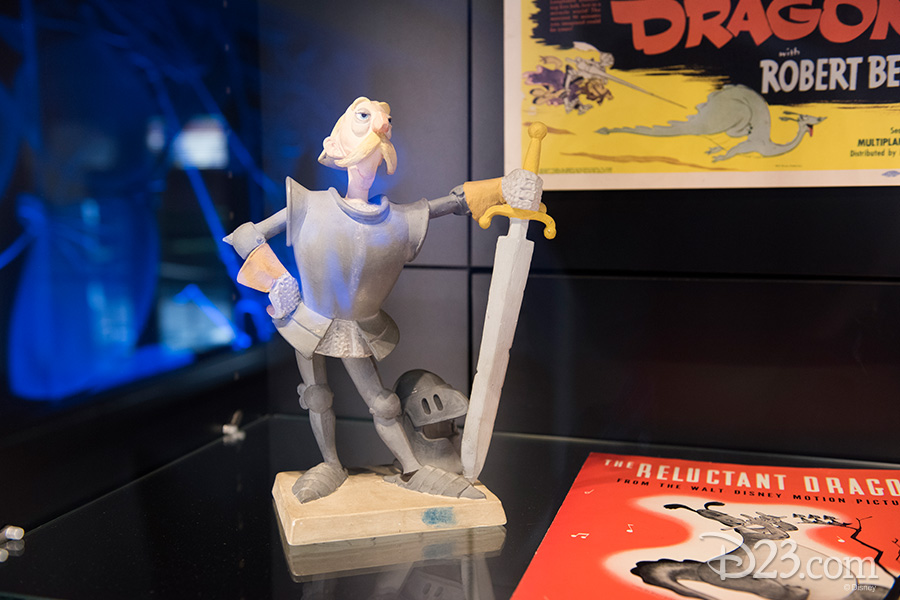 Early 1940s animator's model of Sir Giles