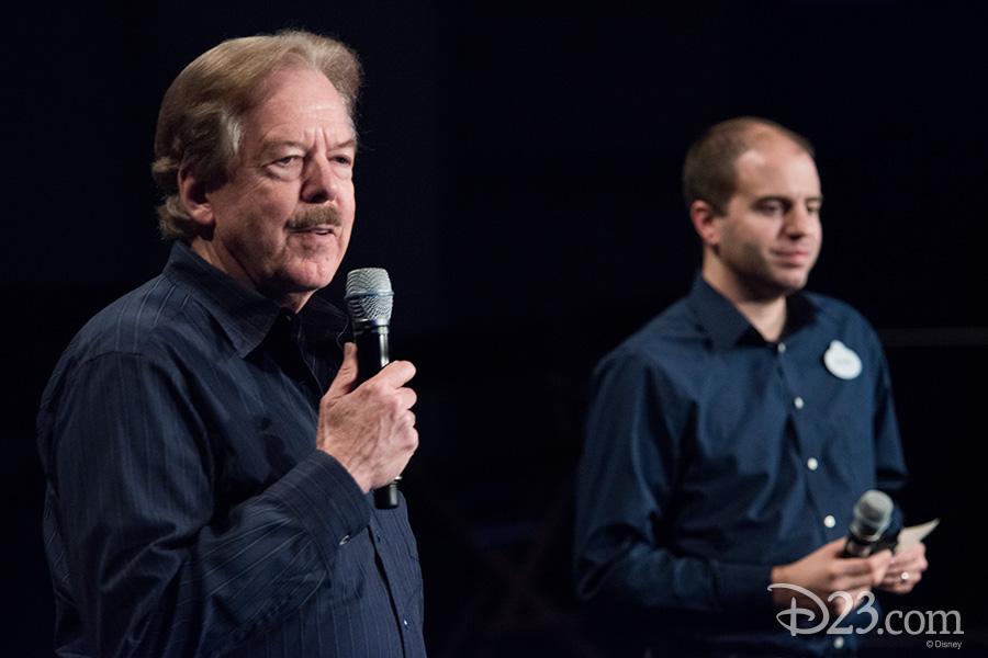 Tony Baxter and Steven Vagnini
