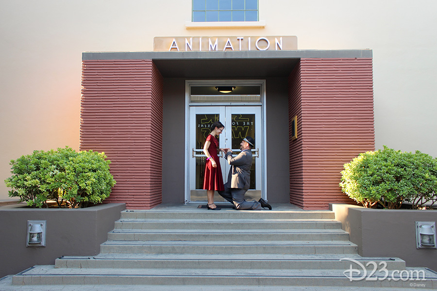 D23 Members marriage proposal