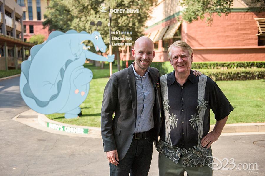 Bret Iwan and Bill Farmer
