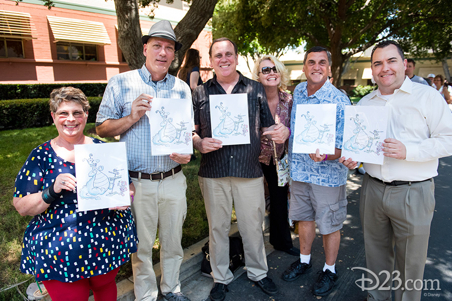 D23 Members show off their exclusive event gift
