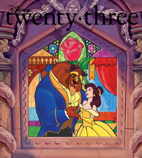 Disney twenty-three fall 2016 cover