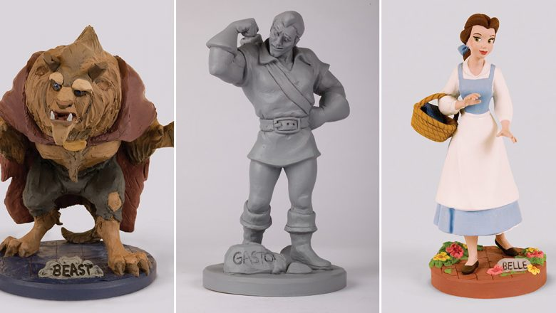 Beauty and the Beast maquettes