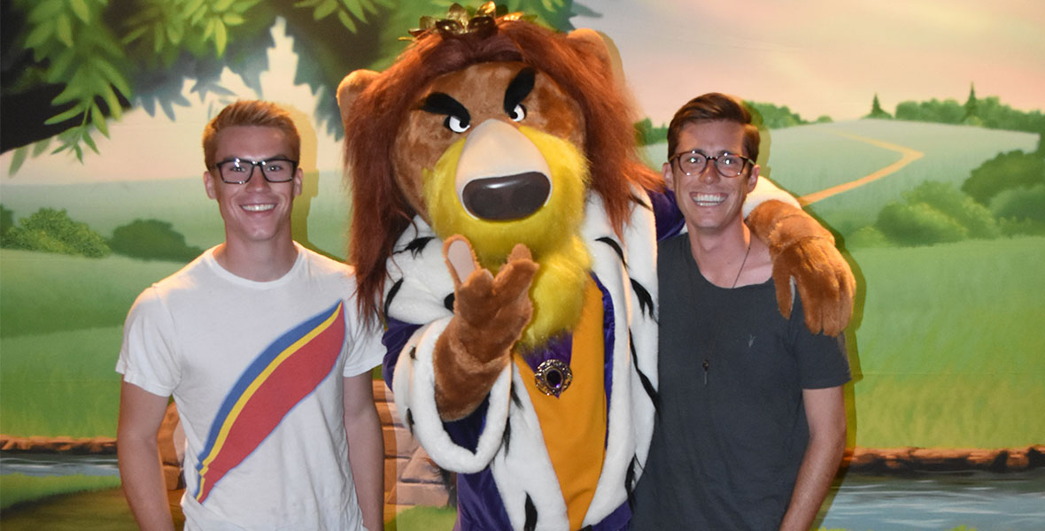 bedknobs and broomsticks lion