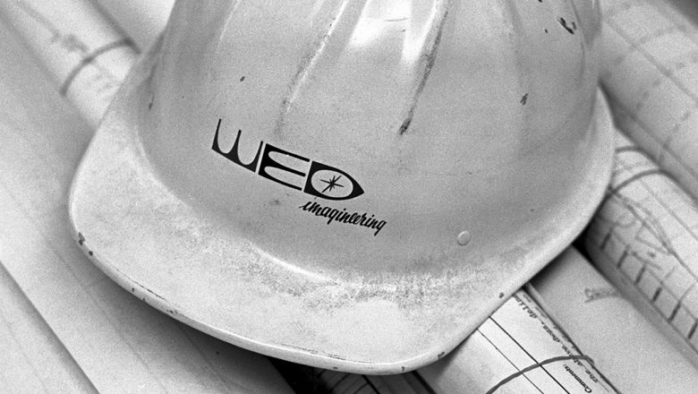 WED Enterprises construction hat