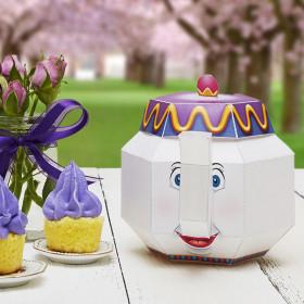Mrs. Potts and Chip tea set
