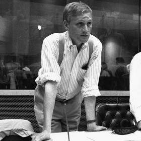 Howard Ashman in the recording studio