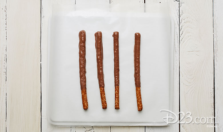 Beauty and the Beast Pretzel Rods