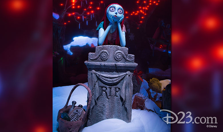 Sally from the Haunted Mansion Holiday