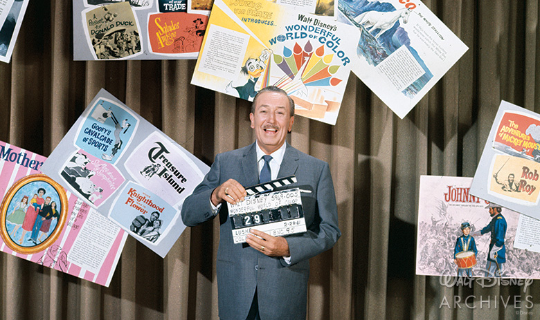 Walt Disney on Walt Disney's Wonderful World of Color