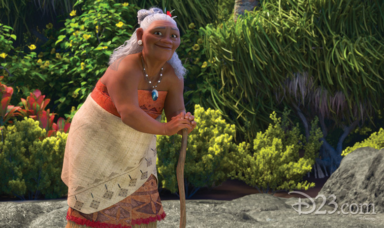 Gramma Tala from Moana