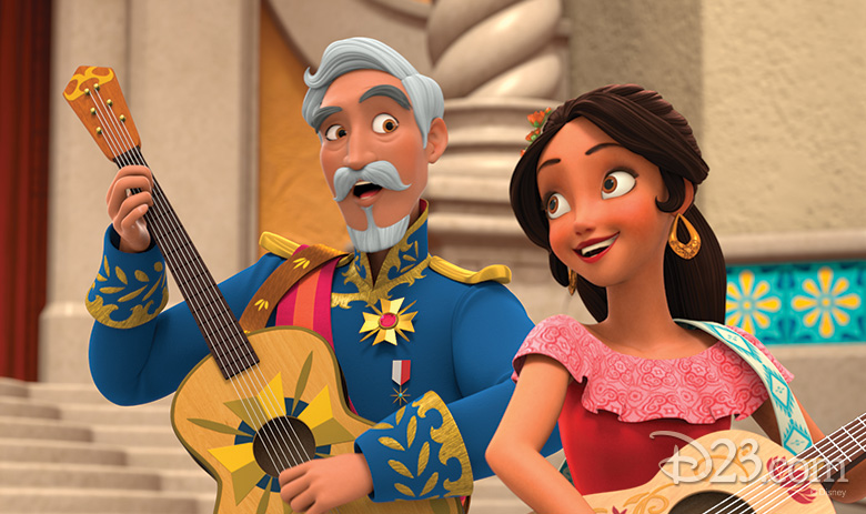 Elena of Avalor's Grandparents