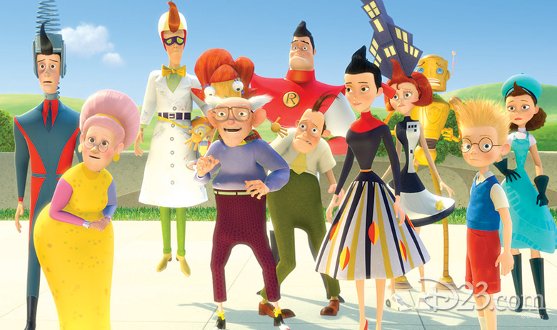 Meet the Robinsons Grandparents