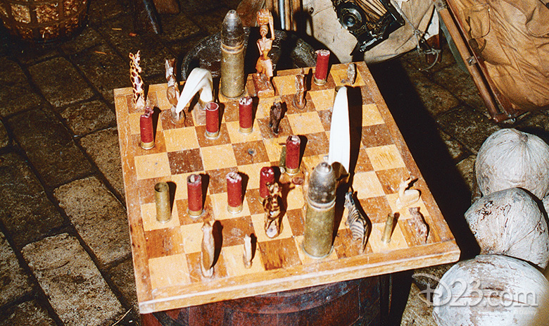 Jungle Cruise Chess Set Disneyland