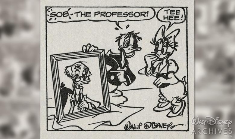 Ludwig Von Drake comic