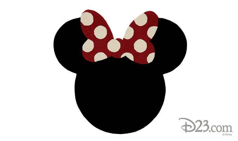 Ethan Allen Minnie Mouse Rug