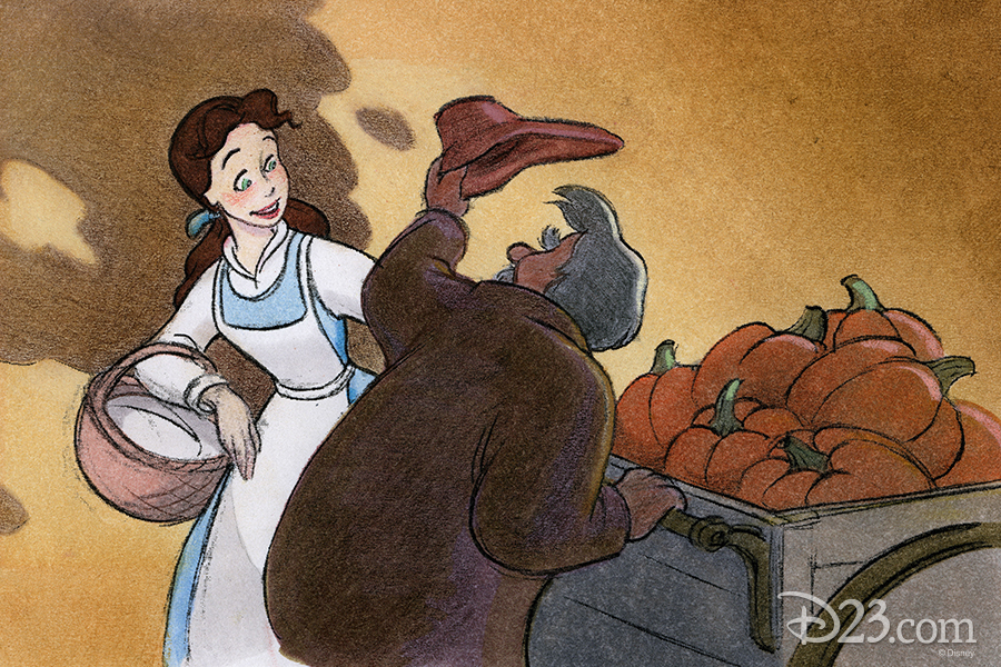 Opening Scene From Beauty and the Beast Concept