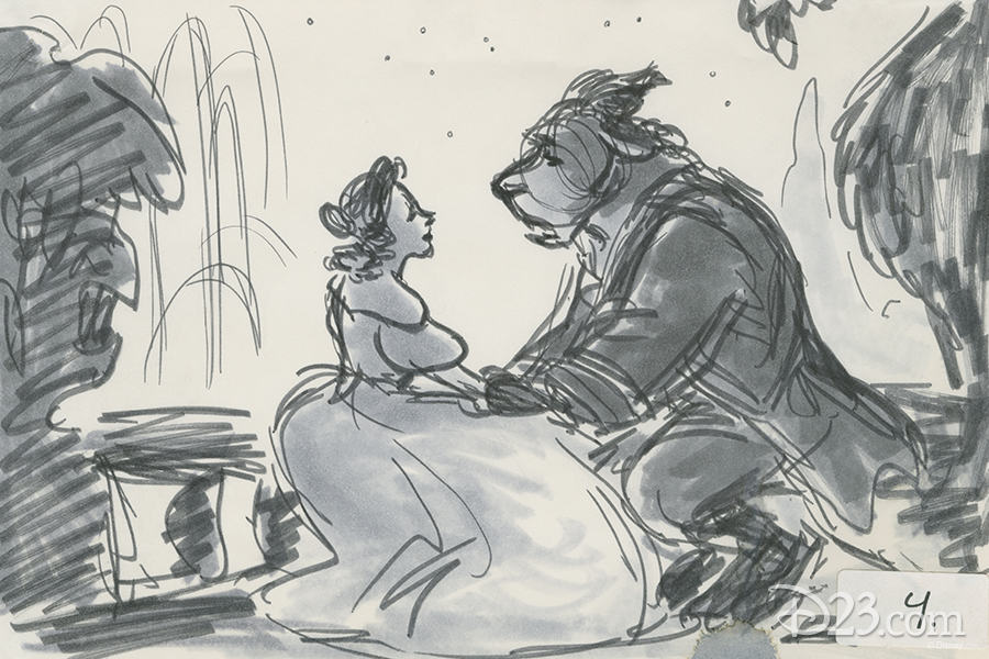 Beast and Belle concept art