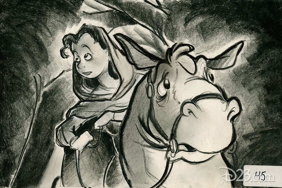 Belle and Philippe concept art