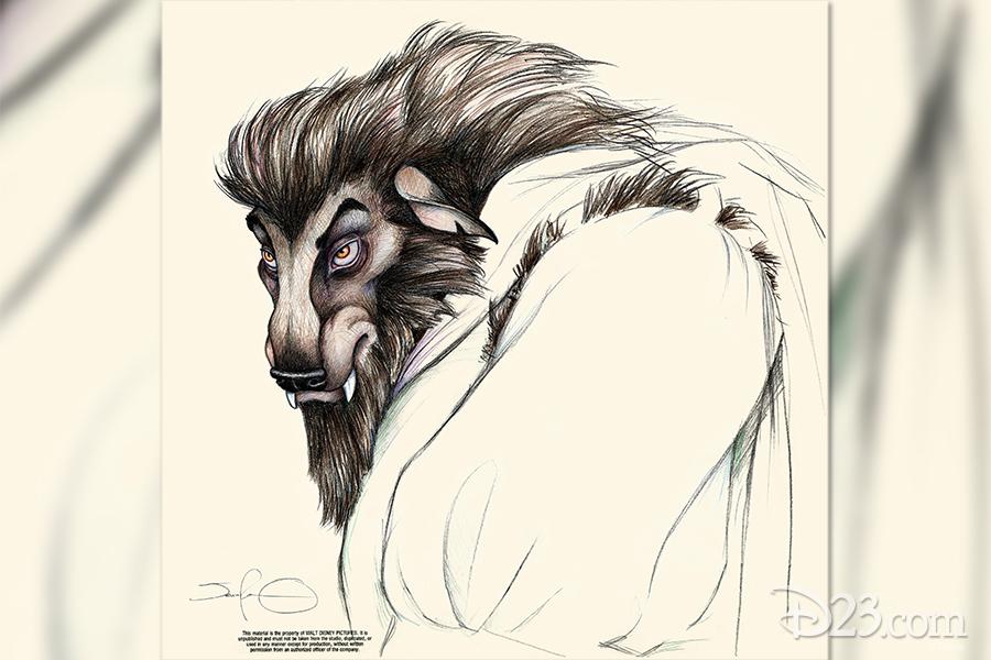 Beast concept art