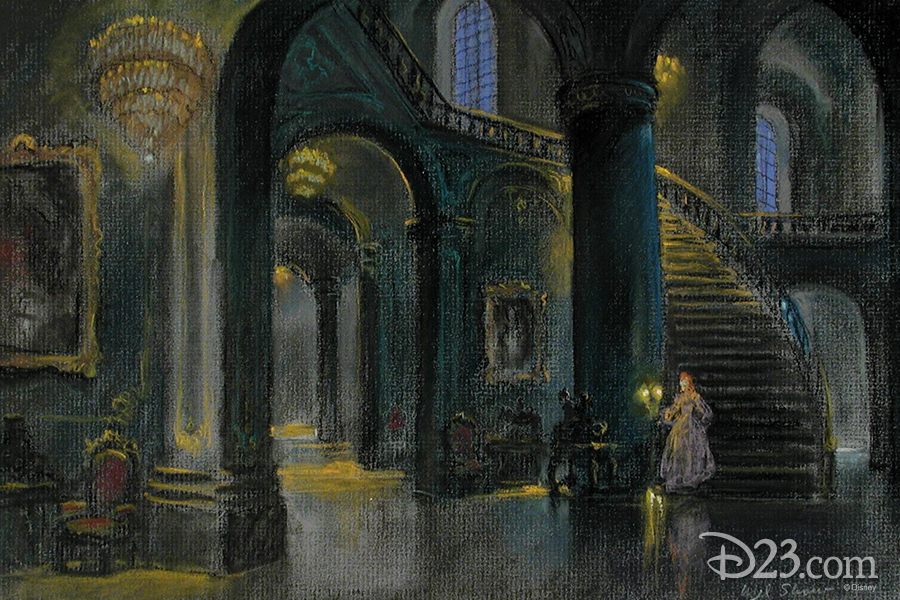 Enchanting Concept Art From Beauty And The Beast Gallery