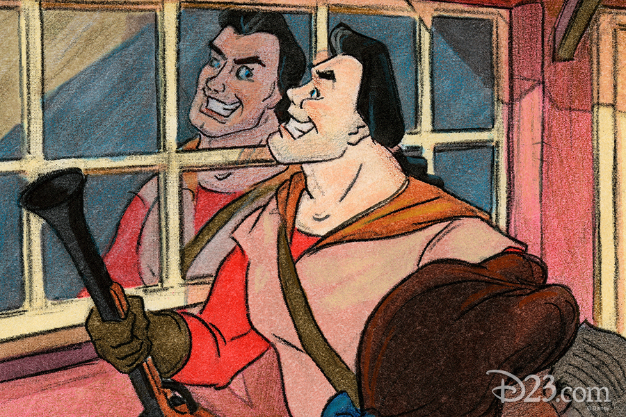 Gaston Concept Art