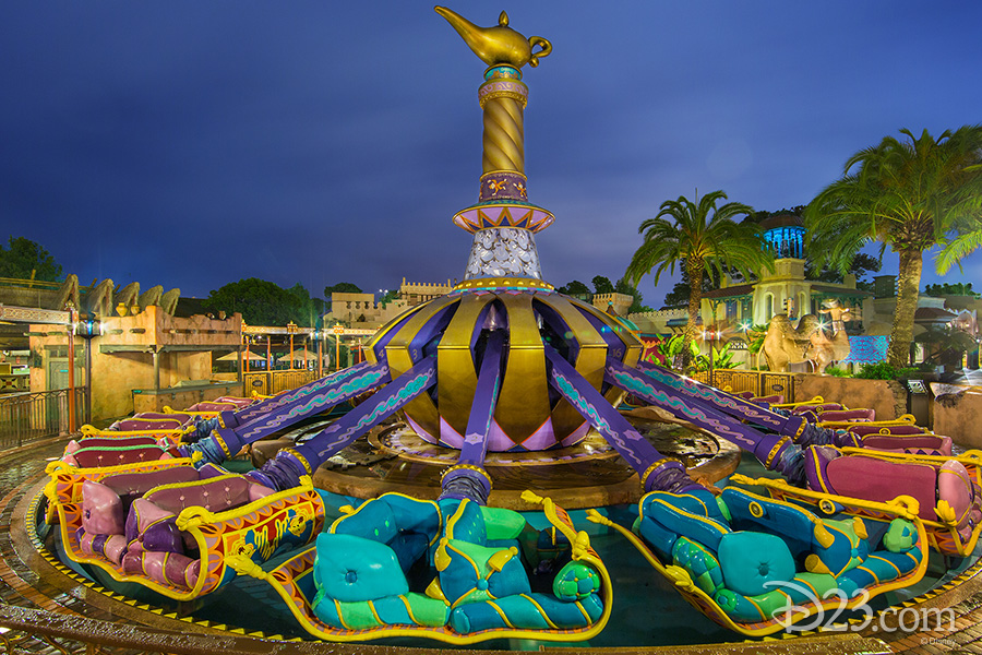 Aladdin's Flying Carpets