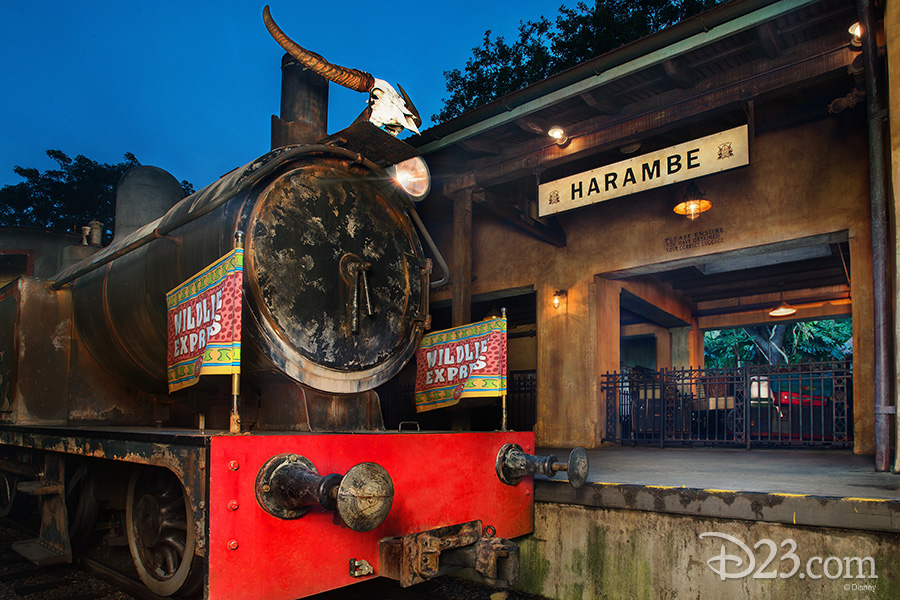 Wildlife Express Train to Rafiki's Planet Watch