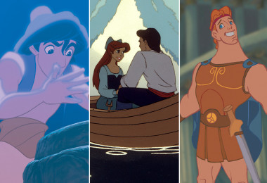Aladdin, The Little Mermaid, Hercules, The Princess and the Frog