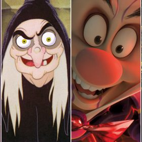 Creepy Disney characters