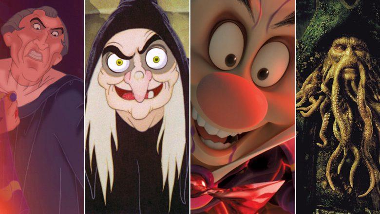 Creepy Disney characters