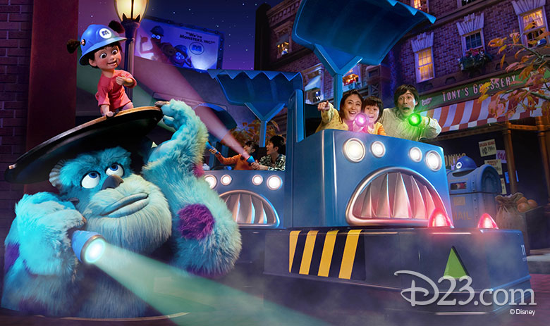 Monsters, Inc.: Ride and Go Seek