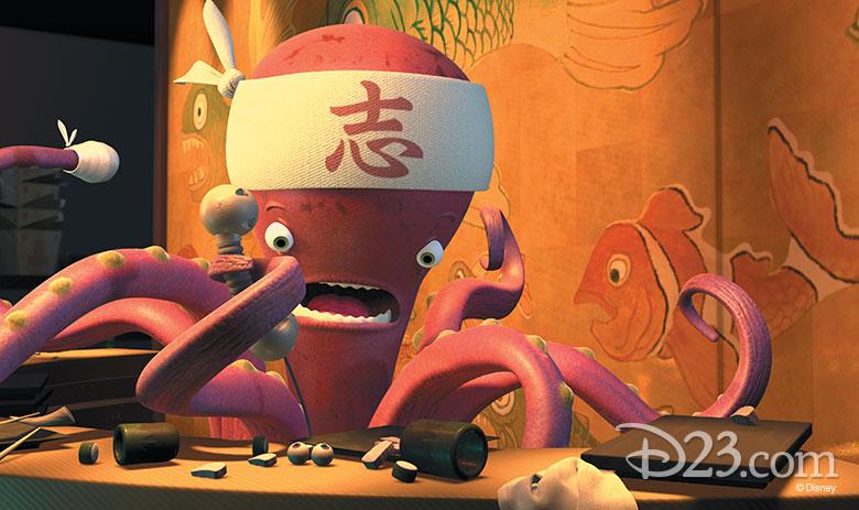 Nemo easter egg in Monsters Inc.