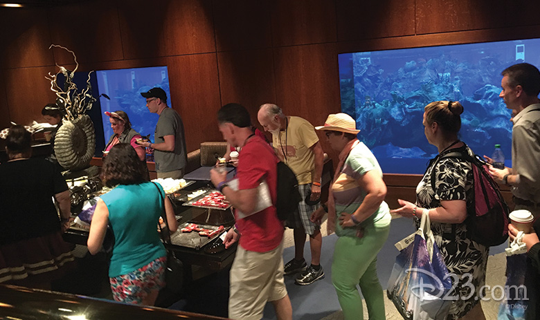 D23 Members at the Seas with Nemo and Friends