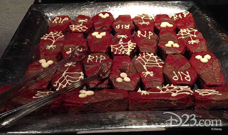 Coffin bar desserts