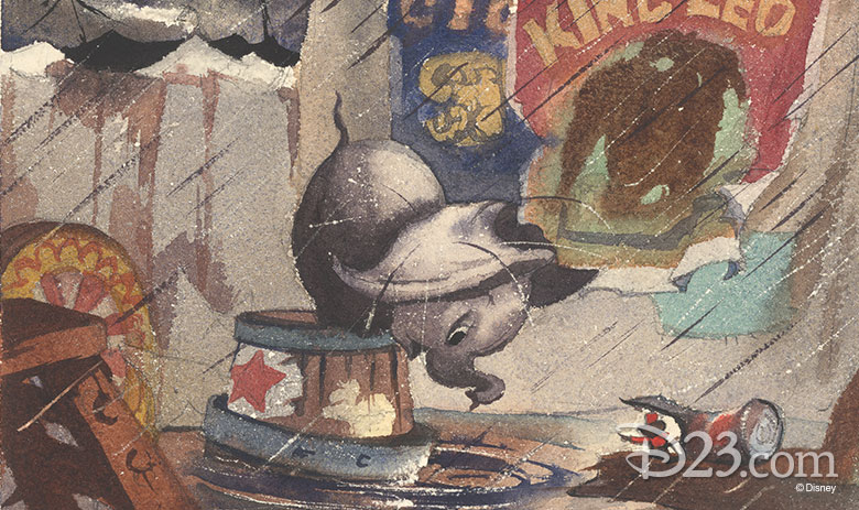 early artwork from Dumbo