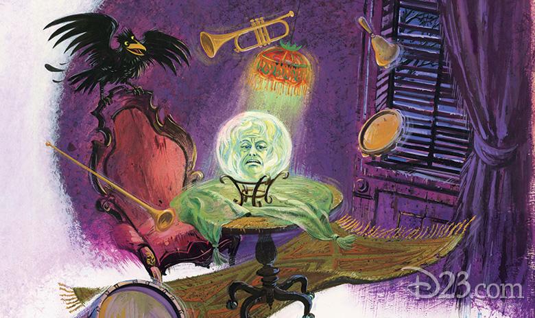 Haunted Mansion concept art
