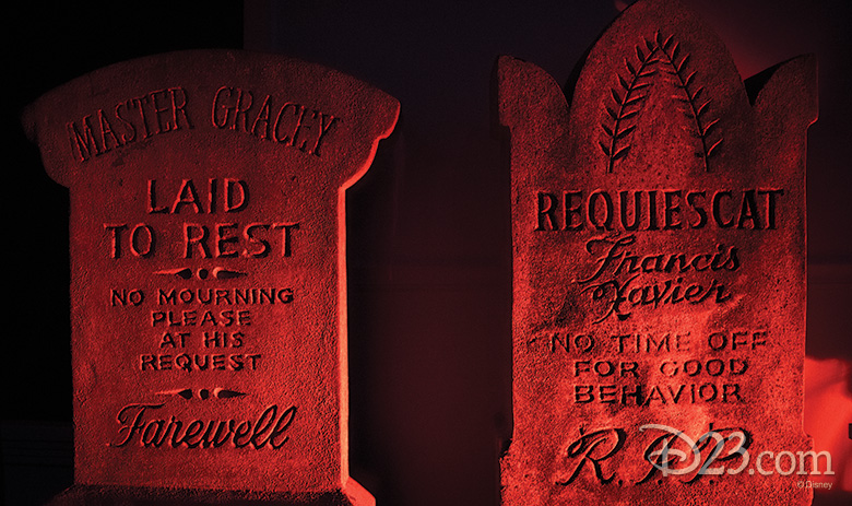 Tombstones from Haunted Mansion, Magic Kingdom Park
