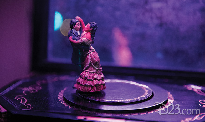 Music box from The Haunted Mansion (2003)