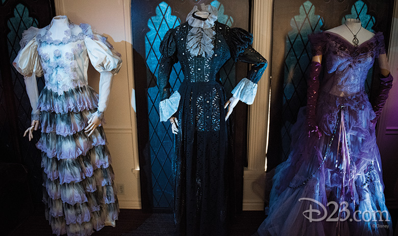 Female Ghost costumes from The Haunted Mansion (2003)