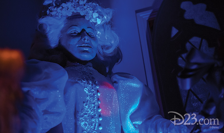 Bride Audio-Animatronics® figure from Haunted Mansion, Magic Kingdom Park
