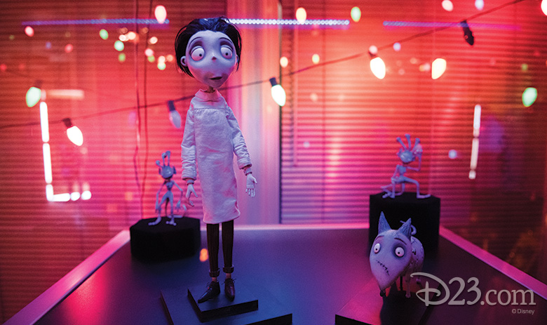 Maquettes of Victor, Sparky, and Sea Monkeys from Frankenweenie (2012)
